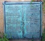 mission plaque