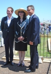 Consul General Nicolas Croizer, Nicole Forrest Green (President of the Friends), Matt Thistlethwaite, MP Kingsford Smith